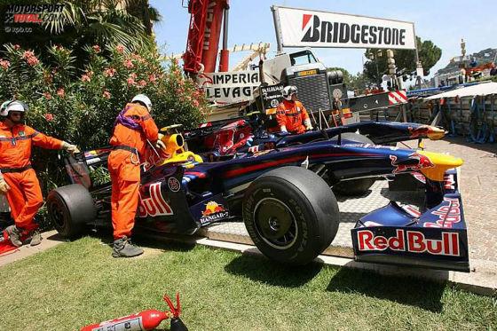 Formel 1 GP von Monaco 2009 Vettels Red Bull RB05