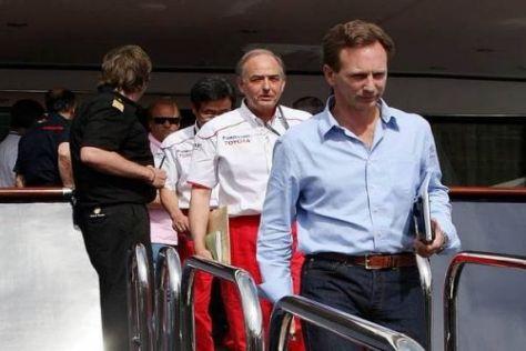 John Howett nach dem FOTA-Meeting am Freitag im Hafen von Monte Carlo