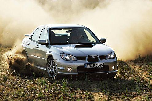 Wehe, wenn er losgelassen: Der Subaru ist ein Vollblut-Rallye-Tier.