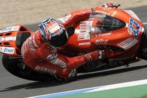Die Ducati-Hoffnungen ruhen in Mugello einmal mehr auf Casey Stoner