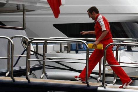 Teamchef Stefano Domenicali kann sagen: Es geht endlich voran bei Ferrari