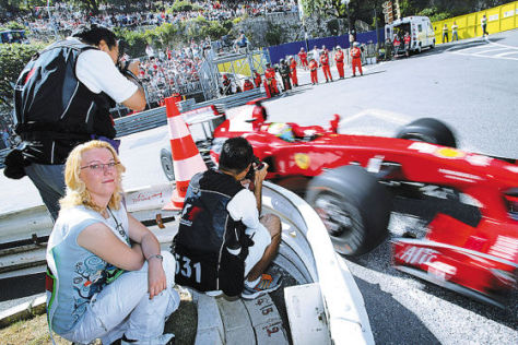 Formel 1 GP von Monaco 2009, Bianca Garloff; AUTO BILD MOTORSPORT