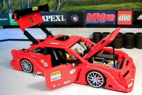 LEGO Opel Calibra DTM