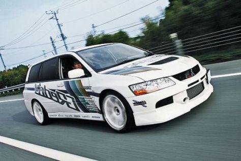 Mitsubishi Evo IX Kombi von Trust