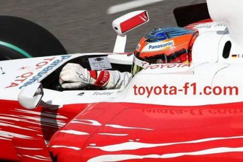 Timo Glock fuhr in Monte Carlo aus der Boxengasse noch auf den zehnten Platz