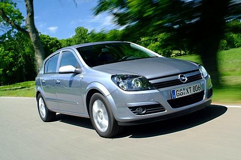 Spritsparer aus der Opel-Flotte: Der Astra 1.3 CDTI. Verbrauch laut Hersteller: 4,8 Liter.