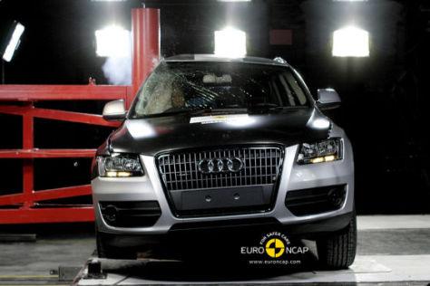 Audi Q5 beim Euro-NCAP-Crashtest