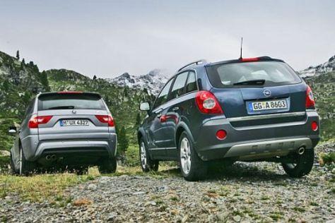 Test Opel Antara