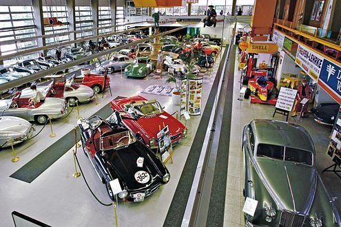 Im Deutschen Automuseum Dortmund sind alle Fahrzeuge zugelassen, einsatzbereit und können jederzeit gefahren werden.