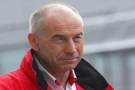 Peter Mücke ist der Chef des größten privaten Rennstalls in Deutschland