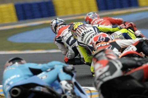 Valentino Rossi rechnet in dieser Saison mit einem engen Fight um den WM-Titel