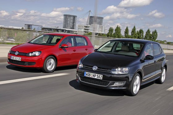 VW Polo VW Golf