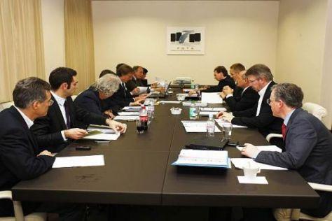 Die Teamchefs haben in London über einen Kompromissvorschlag beraten