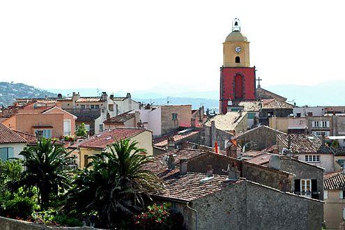 In St. Tropez bleibt die Kirche im Dorf – und wird immer wieder von uns fotografiert.
