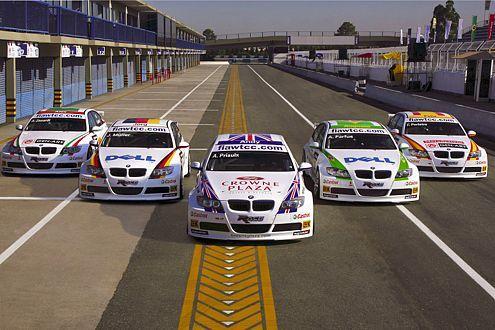 Tourenwagen-Weltmeisterschaft WTCC 2009, BMW-Aufgebot