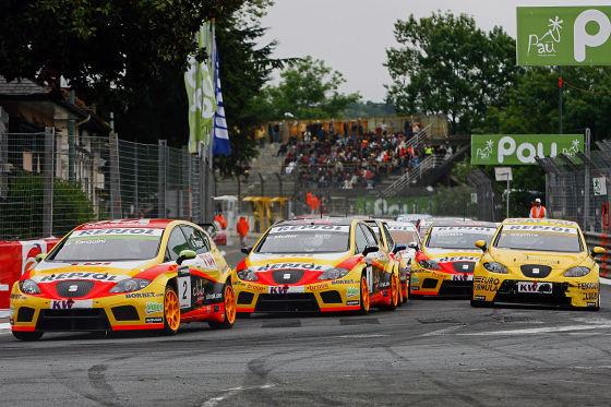 Tourenwagen-Weltmeisterschaft WTCC 2009, Puebla (Mex), Die Seat-Flotte in  Führung