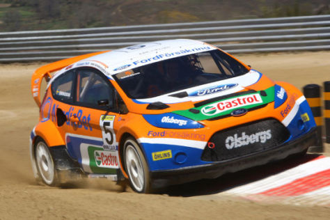 Ford Fiesta Olsbergs Motor Sport Evolution Race Team