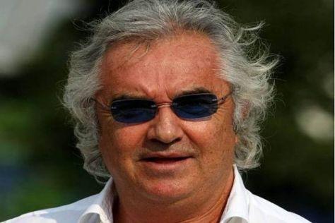 Flavio Briatore soll das Renault-Team angeblich in Eigenregie weiterführen