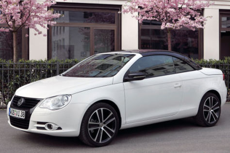 VW Eos Sondermodell White Night
