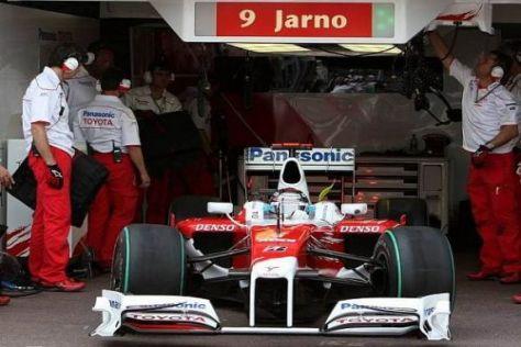 Jarno Trulli will in Istanbul mit Toyota wieder weiter vorne mitmischen