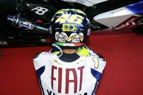 Gesenktes Haupt: Valentino Rossi ist in Mugello doch nicht unschlagbar