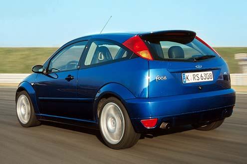 Ford Focus RS: 215 PS und ein perfekt abgestimmtes Fahrwerk.