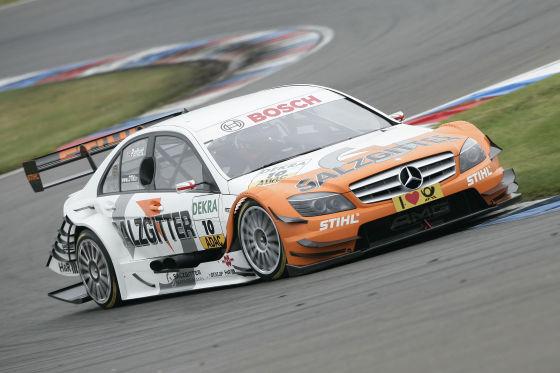 DTM-Saison 2009, Gary Paffet Mercedes C-Klasse, EuroSpeedway Lausitz