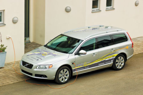 Volvo V70 Diesel-Hybrid