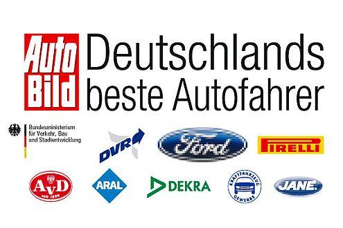 Ein starkes Team: Deutschlands beste Autofahrer, AUTO BILD und die Partner.