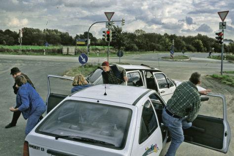 drängeln im straßenverkehr