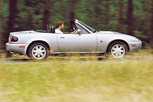 Der Mazda MX-5 steht für Roadster-Spaß und Zuverlässigkeit.