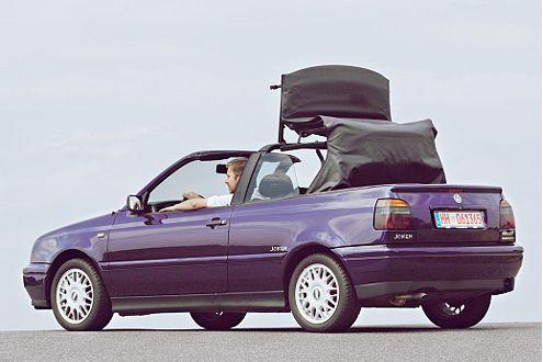 Ein Musterknabe unter den günstigen Cabrios: der Golf III.