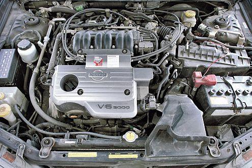 Meist problemlos: Der quer eingebaute V6-Motor mit Steuerkette.
