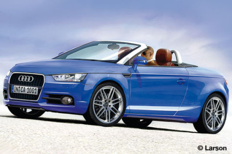 Illustration Audi A1 Cabrio