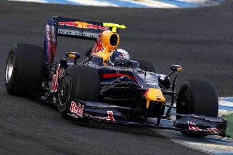 Formel 1 2009, GP der Türkei, Sebastian Vettel Red Bull