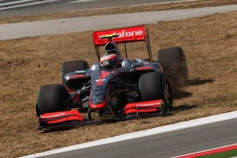Heikki Kovalainen hatte wie sein Teamkollege mit dem Auto zu kämpfen