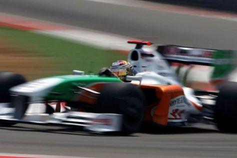 Adrian Sutil schaffte erneut den Sprung in den zweiten Qualifying-Teil