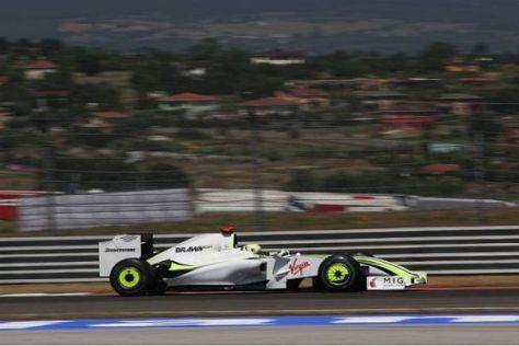 Jenson Button verpasste die Pole Position nur knapp