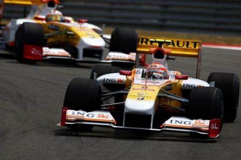 Fernando Alonso schaffte den Sprung in die Top 10, Piquet nicht