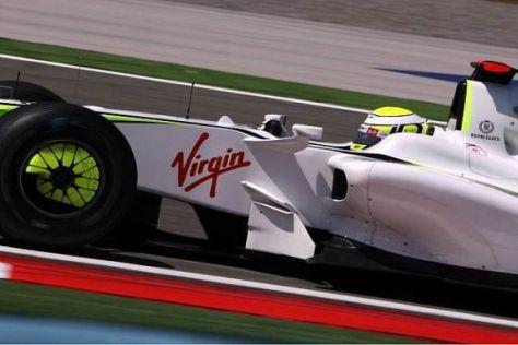 Benzinbereinigt am schnellsten: Jenson Button ist für morgen wieder Favorit