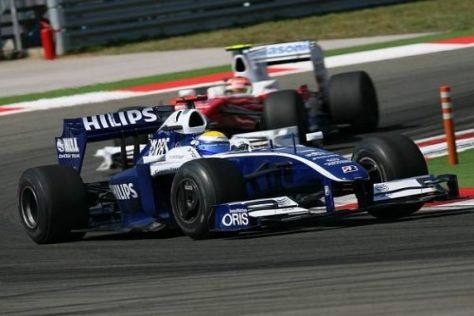Nico Rosberg kämpfte, konnte aber nur den Toyota von Glock hinter sich halten