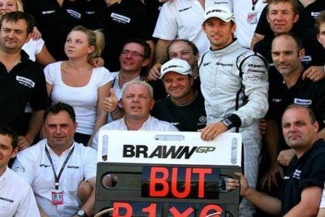 Der Star ist das Team: Jenson Button und Brawn fahren von Sieg zu Sieg