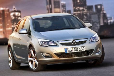 Opel Astra aus Russland