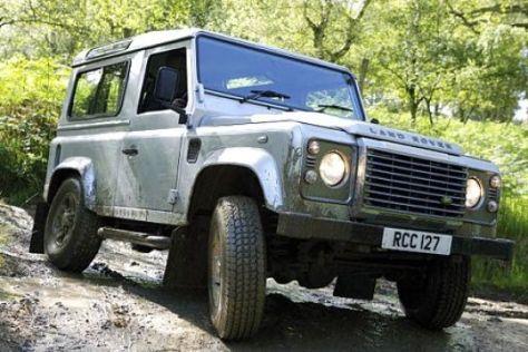 Modellpflege Land Rover Defender