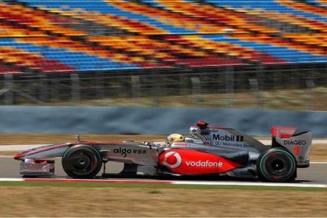 Lewis Hamilton möchte mit seinem Auto noch in dieser Saison auf das Podium
