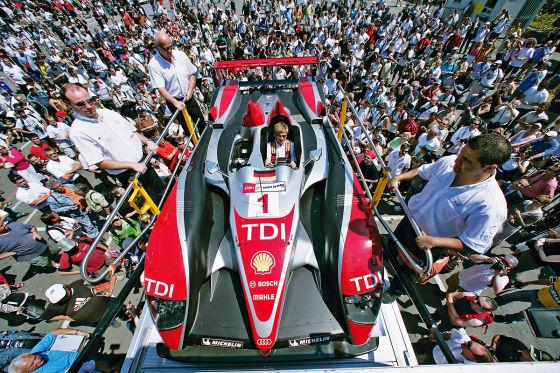 24 Stunden Rennen Le Mans 2009, Audi R10 TDI