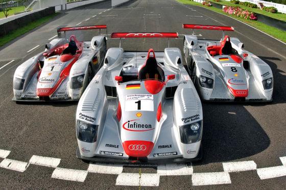 24 Stunden Rennen Le Mans 2009, Audi R8R
