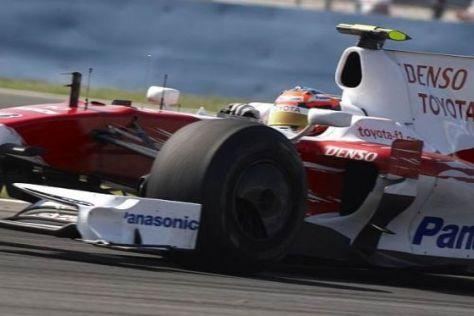 Timo Glock und Toyota präsentierten sich in Istanbul in wesentlich besserer Form