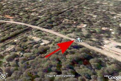 Radarfallen bei Google Earth