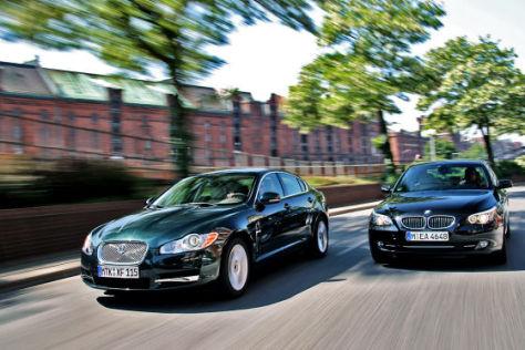 BMW 535d / Jaguar XF 3.0 V6 Diesel S